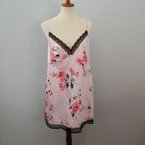 PLUS SIZE SECRET TREASURES Nightgown Floral XL
